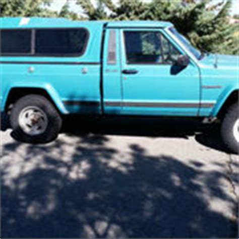 1989 jeep comanche immaculate condition bed model