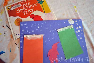 Paint Snowy Owls Tippytoe Crafts Preschool Books - 95 best book the snowy day images on winter