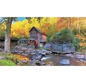 Autumn In Glade Creek Grist Mill UHD 8K Wallpaper  Pixelz