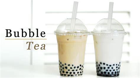 bubble tea milk tea coconut