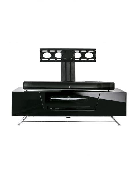 Alphason Chromium Cantilever TV Stand CRO2 1200BKT BK