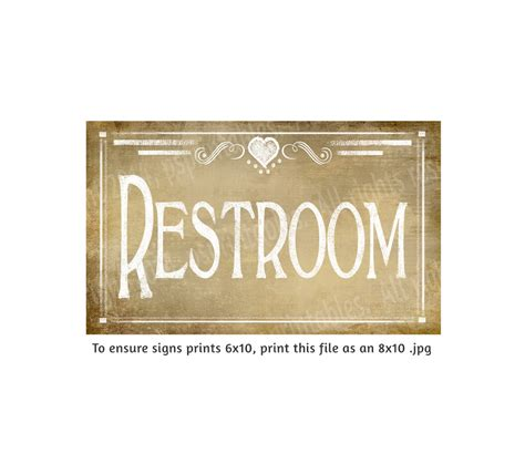 antique bathroom sign vintage chalkboard style restroom bathroom signs diy