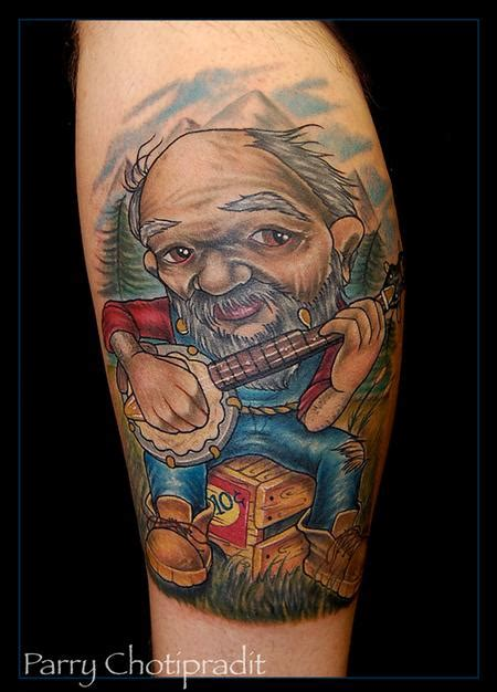 hillbilly tattoos hillbilly by parry chotipradit tattoonow