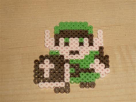 8 bit bead peler bead 8 bit link by gamingpelerbeads on deviantart