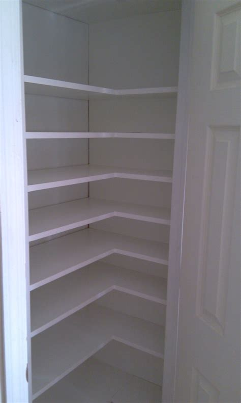 corner closet build out closet shelving ideas