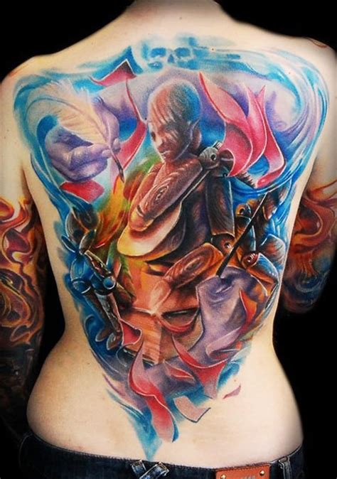 crazy ink tattoo back tattoos and designs page 514