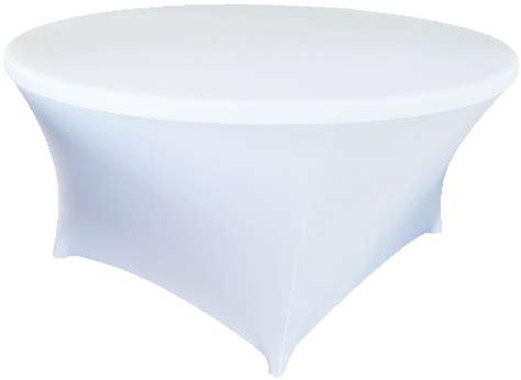 free shipping 10pcs white 6ft round lycra stretch spandex