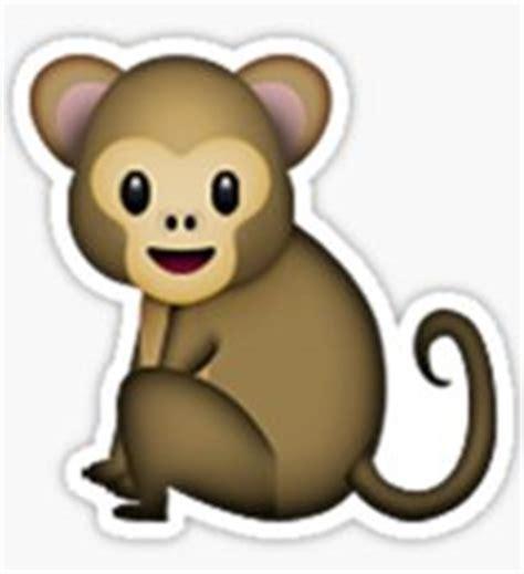 imagenes del emoji del mono mono emoji pegatinas redbubble