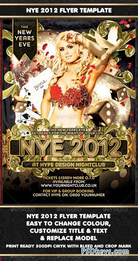 Nye 2012 Flyer Template 925807 187 Free Download Photoshop Vector Stock Image Via Torrent Flyer Template Rar