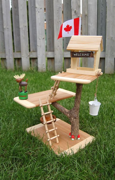 tree doll house dollhouse no way build your kids a toy treehouse