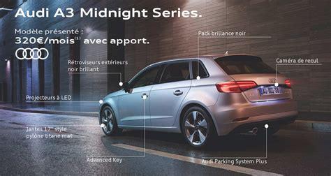 Audi A3 Baureihen by Audi A3 Midnight Series S 233 Ries Limit 233 Es Audi Midnight