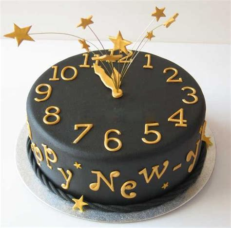 new year cake happy new year 2018 cake design with name images pictures