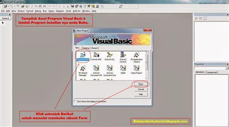tutorial dasar belajar pembuatan program aplikasi