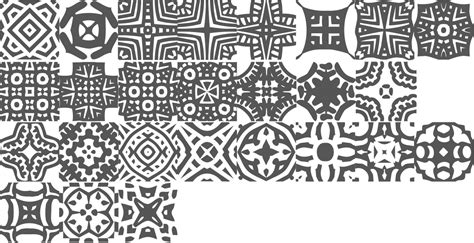 african pattern font myfonts patterned typefaces