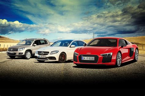 volkswagen audi car win an audi r8 mercedes amg c63 and a vw tiguan with car