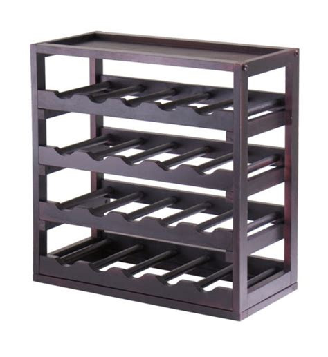 Wine Rack by 20 Bottle Tray Wine Rack In Wine Racks And Cabinets