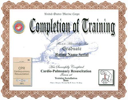 combat lifesaver certificate template best 25 cpr ideas on