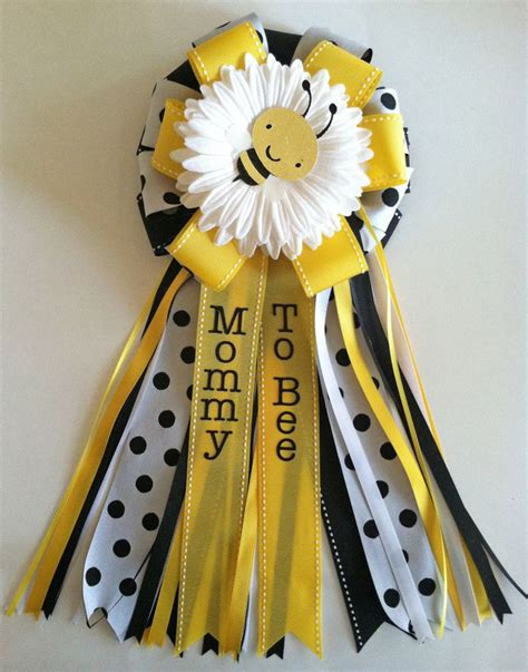 Bumble Bee Baby Shower by Bumble Bee Baby Shower Corsages Pins
