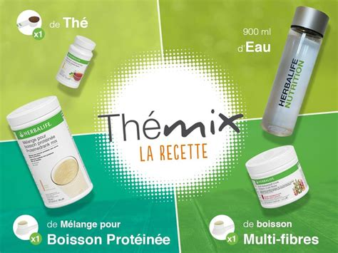 Teh Mix Herbalife pack boisson minceur th 233 mix herbalife cocktail d 233 t 233