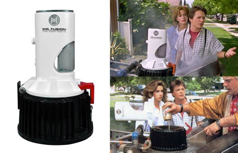 Furniture For Kitchen Storage Back To The Future Ii Mr Fusion Home Energy Reactor