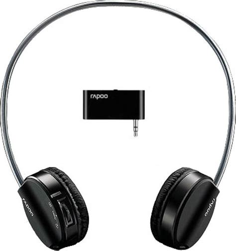 Headset Rapoo rapoo wireless stereo headset h3070 headset with mic price in india buy rapoo wireless stereo