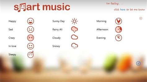 8 Songs To Soothe A Bad Mood by Play Songs That Match Your Mood With Smart For Windows 8