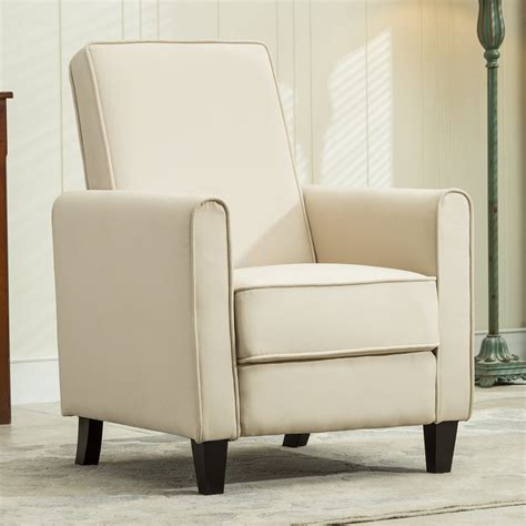 Recliner Club Chair Living Room Home Modern Design Recline Living Room Club Chairs