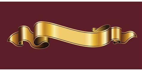 Balon Metalik I You Cinta free vector graphic gold ribbon ribbon heraldry free
