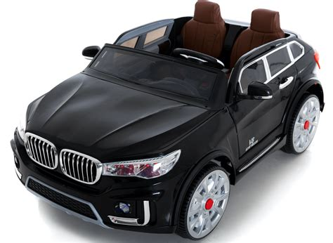 bmw style 2 seater 24v large electric car black