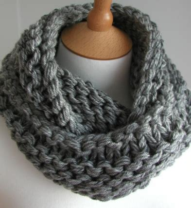 knitting pattern for infinity scarf on straight needles free infinity scarf pattern crochet crochet and knit