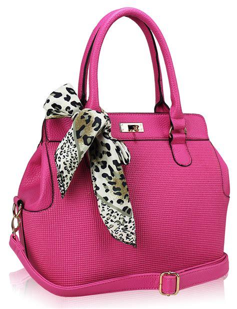 The Pink Bag wholesale pink fashion scarf tote handbag