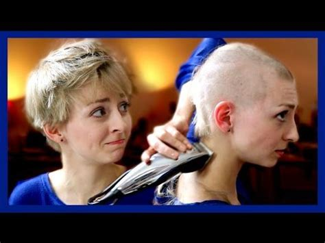 with hair pulling disorder trichotillomania shaves in emotionally charged