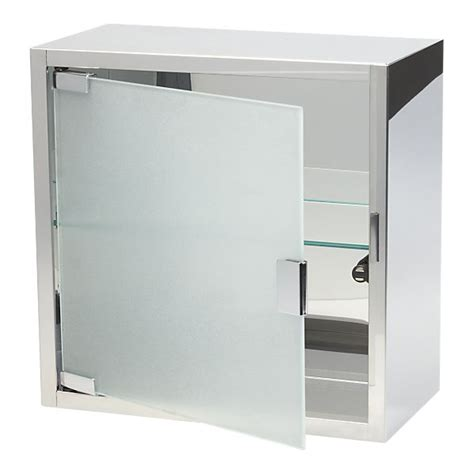 Steel and glass medicine cabinet from crate amp barrel