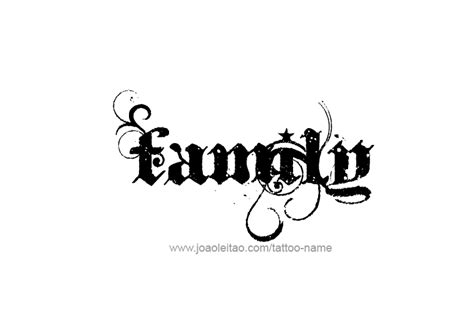 love family tattoo designs family name designs tattoos with names