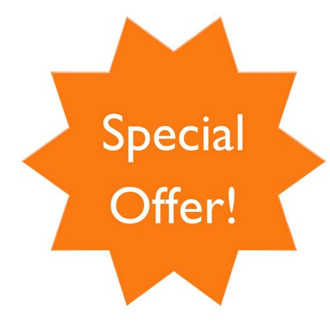 A Special Offer From by Special Offer Tag Png Www Imgkid The Image Kid Has It