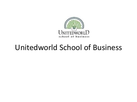 School Of Marketing And Advertising Mba by Mba In Marketing Unitedworld School Of Business