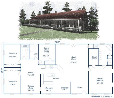 shop house plans on steel homes pole barn
