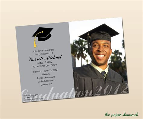 College Graduation Announcements Templates by High School Graduation Menu High School Graduation