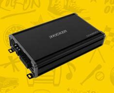Kickers Sonic kicker car marine audio at sonic electronix