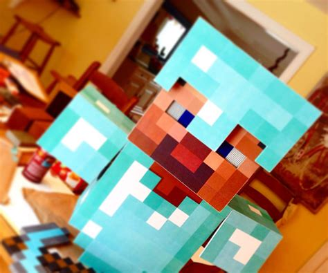 diy steve minecraft costume diyminecraftcostume 9 steps with pictures
