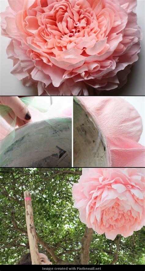 diy crepe paper peonies 9 best giant crepe paper peony tiffany turner images on