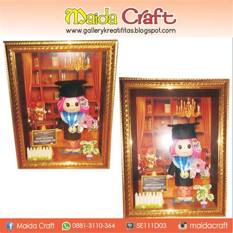 Boneka Wisuda Sidoarjo boneka wisuda dalam frame gallery kreatifitas