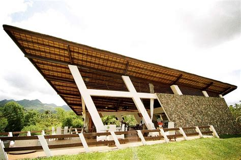 conceived as a simple terrace where visitors can experience the famous barako coffee of lipa