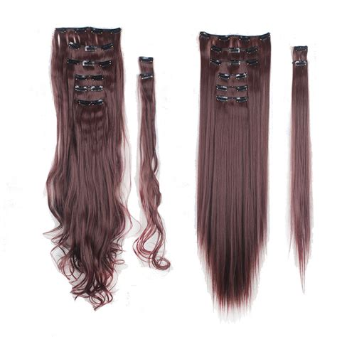 single clip in human hair extensions single weft clip in hair extensions real remy