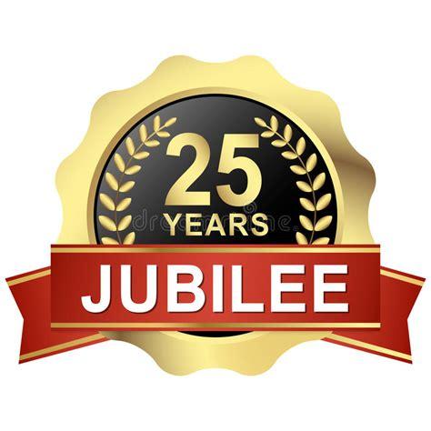 25 jaar getrouwd vrije dag knoop 25 jaar jubileum vector illustratie illustratie