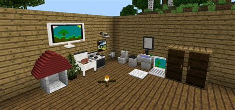 Minecraft The Furniture Mod by Mobile Minecraft