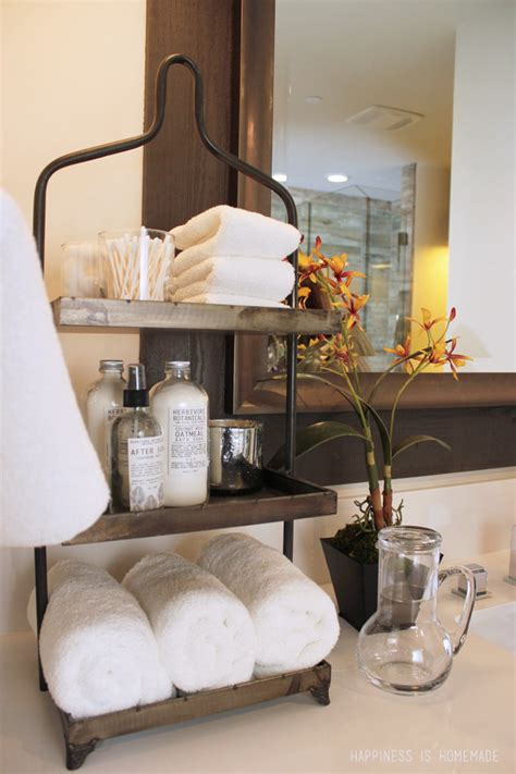 25 Bathroom Space Saver Ideas Tiered Bathroom Storage