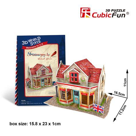 Cubicfun 3d Puzzle World Style Series Shops Stall ironmongery shop cubicfun w3108h 3d puzzle