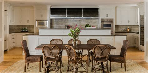 be still my heart a coastal inspired kitchen 5 take rattan dining chairs for beach style kitchen with antique