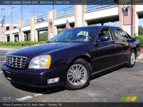 2003 Cadillac Dhs by Blue Onyx 2003 Cadillac Dhs Gray Interior